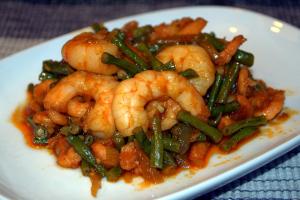 Vis-zeevrucht gerechten